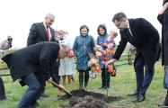 Послы Польши, Украины и США заложили в Беларуси аллею в честь Костюшко