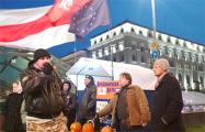 Оппозиция отпраздновала Halloween на пикете в Минске