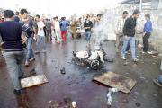 Число жертв взрыва в пригороде Багдада достигло 70