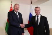 Румас и Медведев в Москве разногласия не обсуждали