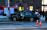 Серьезная авария на проспекте Независимости: есть пострадавшие
