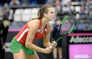 Белорусская теннисистка номинирована на звание «Прорыв месяца»