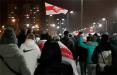 Жители Юго-Запада вышли на марш с национальными флагами