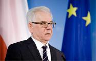 Глава МИД Польши отправился в первую заграничную командировку с начала пандемии