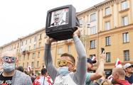 Оригинальные плакаты белорусов на Марше