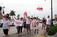 Во Флориде прошла акция солидарности с народом Беларуси