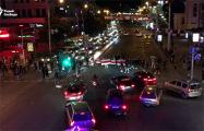 Минчане заблокировали дороги в разных частях города