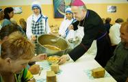 Как посол Ватикана накормил гомельчан