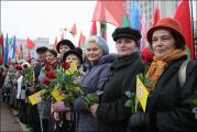 Коммунисты поклонились Ленину в Минске