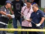 В резиденции малайского премьера застрелили мужчину с мечом