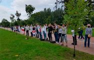 Студенты БГМУ стали в цепь солидарности