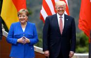 Трамп и Меркель подтвердили общую позицию по санкциям против РФ