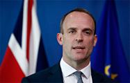 Глава МИД Великобритании призвал к проведению свободных выборов в Беларуси