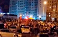 Микрорайон Лебяжий массово вышел на улицу