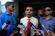 На Мальдивах начался митинг против ареста бывшего президента