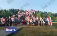 На самой высокой точке Беларуси прошел митинг