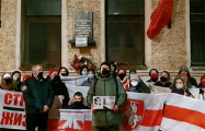 Белорусы Санкт-Петербурга 172 день выходят на акции солидарности со свободными белорусами