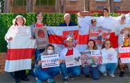 В Австралии поддержали белорусов