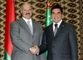 Белорусский диктатор поздравил туркменского