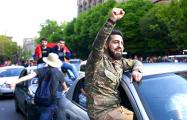 Фоторепортаж: Как армяне празднуют свою победу
