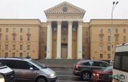 На проспекте Независимости загорелась подсветка здания КГБ