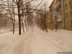 Могилев замело снегом