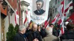 Белорусы прошли шествием по Вильнюсу в годовщину казни Калиновского