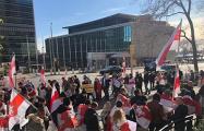 Белорусы Нью-Йорка устроили акцию протеста у штаб-квартиры ООН