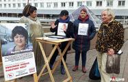 В центре Витебска проходит необычный пикет по сбору подписей
