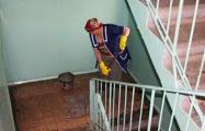 Мыть подъезды в Минске коммунальщики будут только «по необходимости»