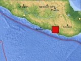 В районе Акапулько произошло мощное землетрясение