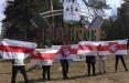 Борисовчане вышли на акцию протеста и солидарности