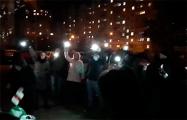 Дворовые посиделки в Михалово сегодня были посвящены участникам Марша мудрости