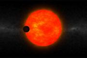 Астрономы открыли огромную экзопланету рядом с небольшой звездой