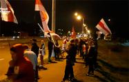 Шабаны вышли на вечерние шествие