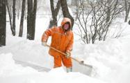Дворникам обещают премию за качественную уборку снега