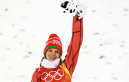 Фотофакт: В Национальном аэропорту встречают олимпийскую чемпионку Анну Гуськову