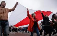 В Заводском районе Минска развеваются национальные флаги
