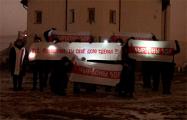 Жители Красного Бора напомнили узурпатору, что его время вышло