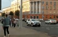 В Минске продолжается автомобильный протест