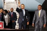 Обама прилетел на родину своих африканских предков