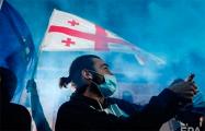 В Грузии сторонники оппозиции провели митинг у резиденции Иванишвили