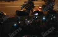 В Масюковщине проходит массовый марш