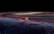 Астрономы впервые нашли огромную волну газа в космосе
