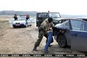 Белорусские пограничники и гаишники провели учения границе с Украиной