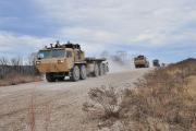 Американские военные испытали автоколонну без водителей