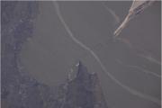 Космонавт Новицкий сфотографировал мост в Крым с орбиты