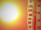 В Беларуси побит температурный рекорд