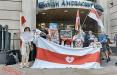 На акции в Лондоне белорусы потребовали жестких санкций против режима