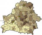 Криминальная карта Беларуси